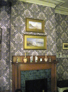 Historically Reproduced Wallpaper